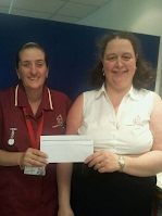 Sarah - Carer of the month for May