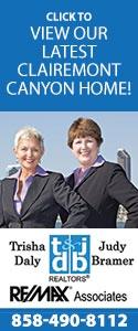 Trisha Daly & Judy Bramer REMAX Associates 858-490-8112