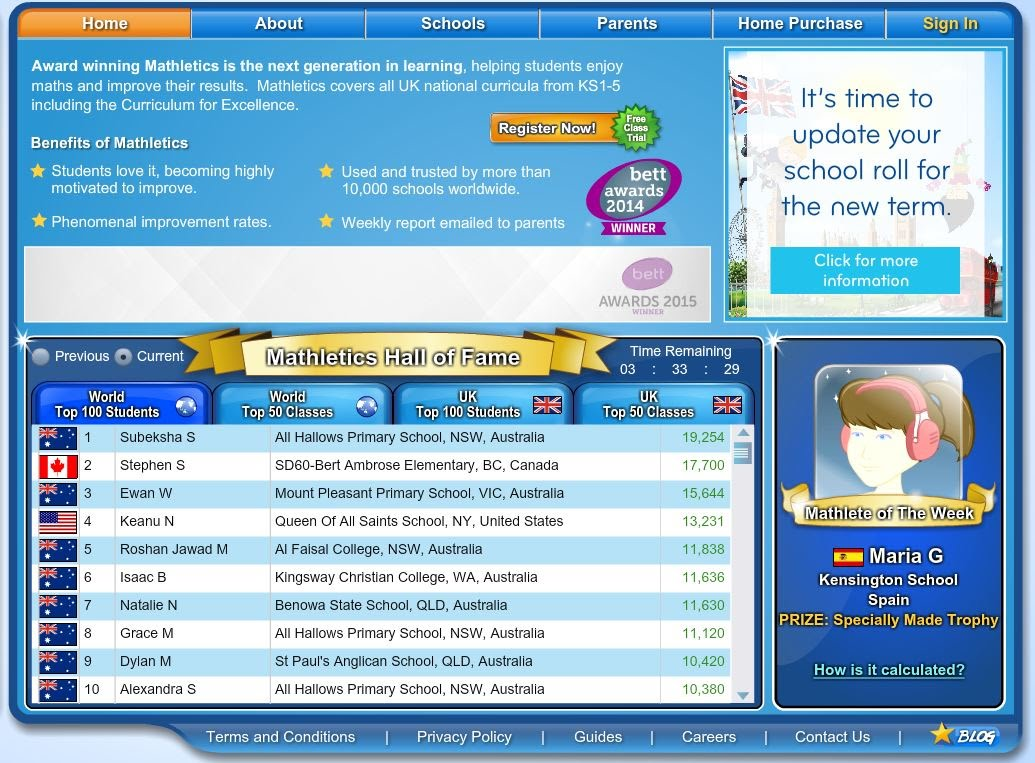 Fine Mathletics Games Ks2 Contemporary - Printable Math Worksheets ...