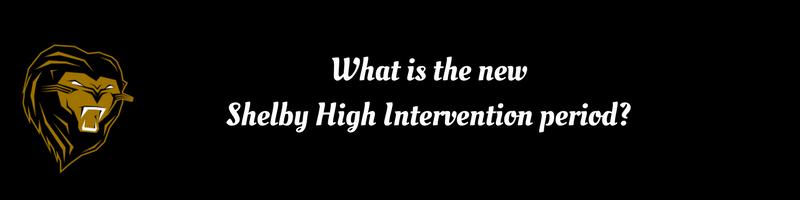 Intervention Period