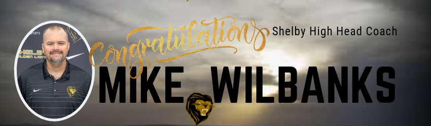 Congratulations Coach Wilbanks
