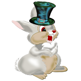 thumper wearing bowler hat