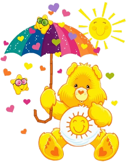 yellow care bear