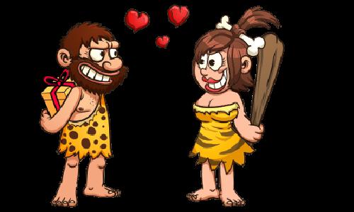 Cartoon Caveman 2