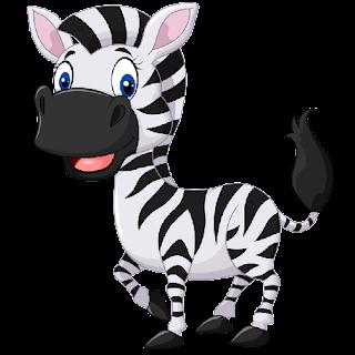 Zebra Print Clip Art Zebra Cartoon Pictures...