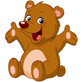 Bear cute. Baby bears clipart
