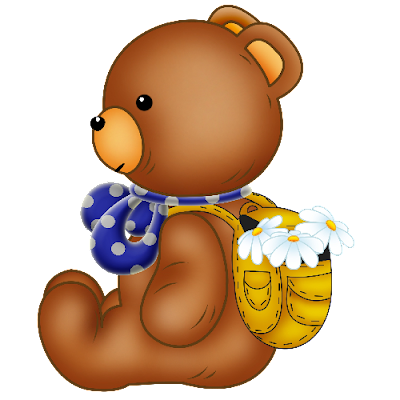 Baby_Brown_Bear_Blue_Bow_White_Flowers