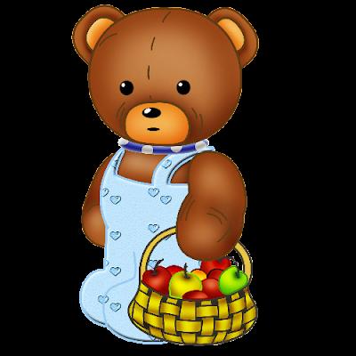 Baby_Brown_Bear_Blue_Scarf_Apples