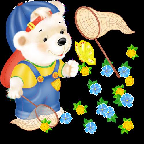 cute_white_bear_fishing