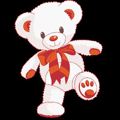 cute_white_baby_bear_