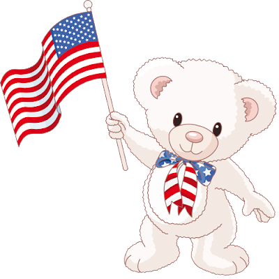 cute_white_baby_bear_with_american_flag