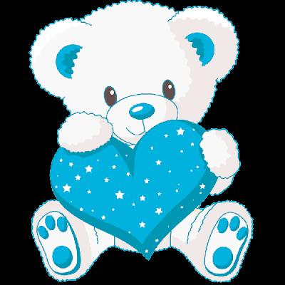 cute_white_baby_bear_with_blue_love_heart
