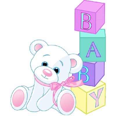 cute_white_bear_with_baby_building_bricks