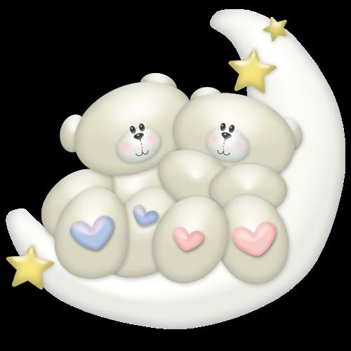 two_baby_grey_bears_sitting_on_moon