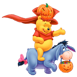 Winnie The Pooh Halloween Characters - Disney Halloween Characters
