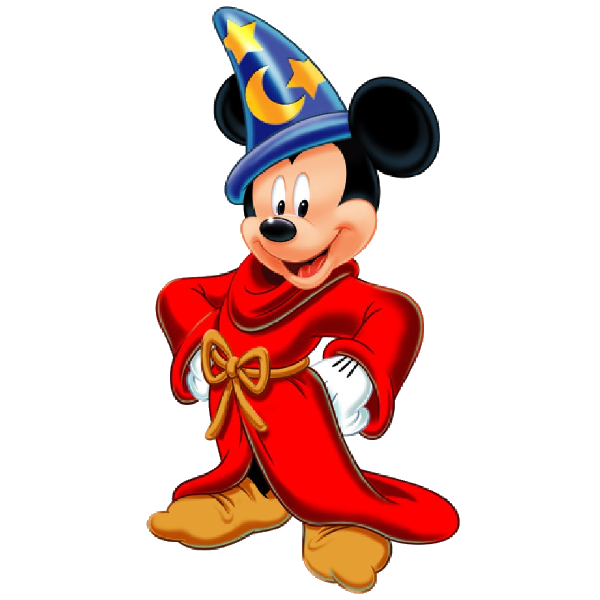 Sorcerer Mickey Mouse Clipart