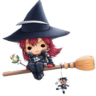 cute cartoon halloween witches clip art images - Cute Halloween Witches