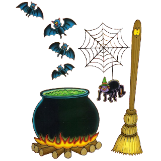 Witches Cauldron - Halloween Characters