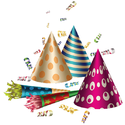 Balloons And Hats Party Funny Pictures
