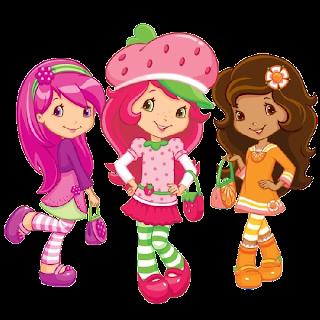 Strawberry Shortcake Group Images