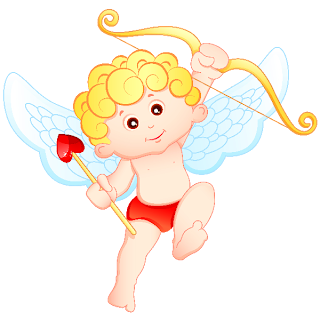 Cupid Boy And Girl - Valentine Images