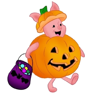 Pooh Halloween - Winnie The Pooh Images