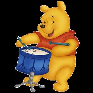Winnie The Pooh Party Cartoon Image