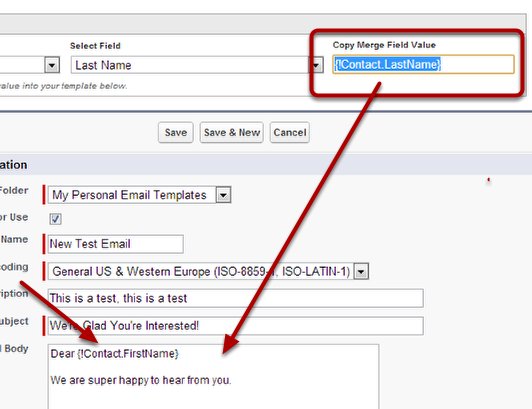 Email Basics Create An Email Template Salesforce 101