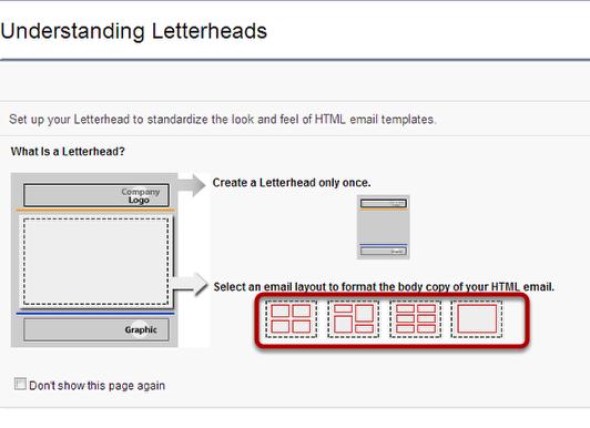 create a letterhead