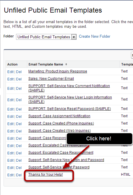 Email Basics Add An Attachment To An Email Template Salesforce 101