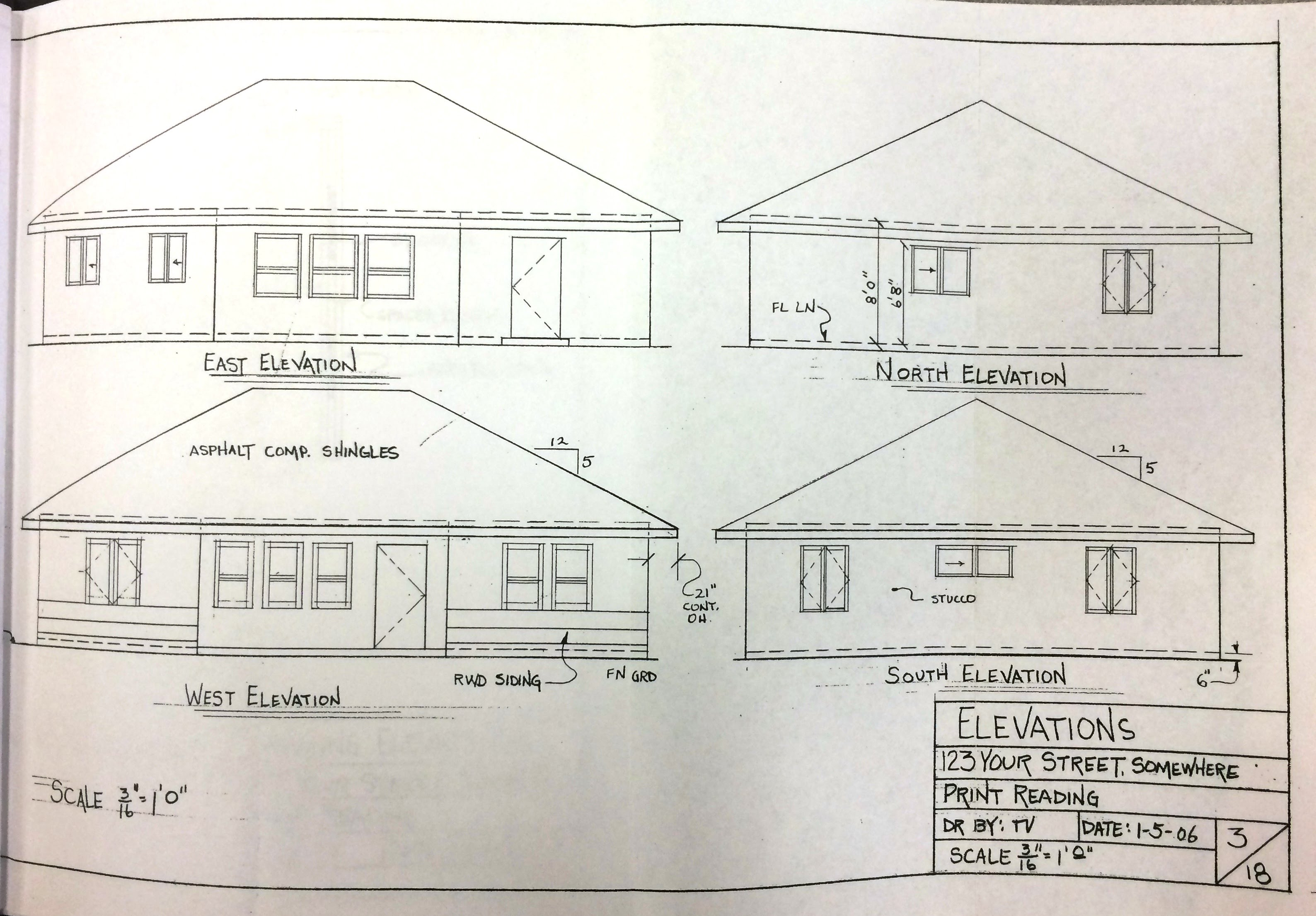 New  Plan Paxton Elevation Plan Plan Paxton Floor