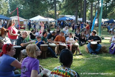 Pagan Pride Raleigh Drumming