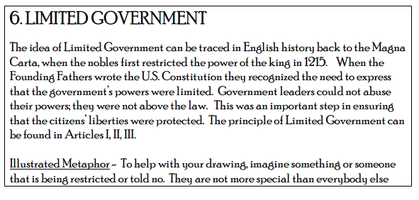 Limited Government Whats The Big Idea