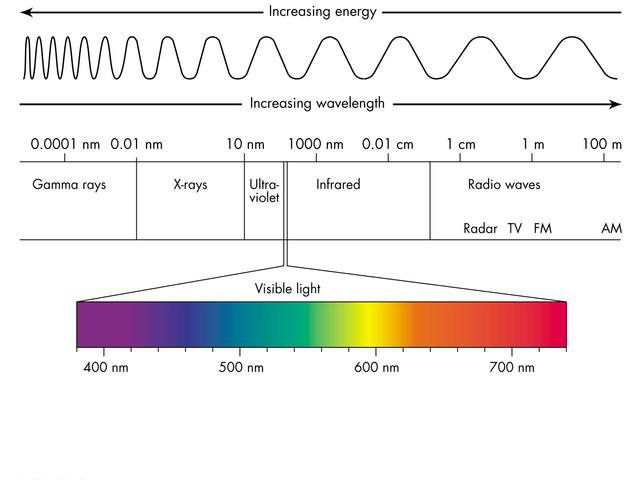 relationship of light and electromagnetic waves