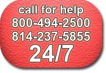 Call 1-800-494-2500 for Help, 24/7