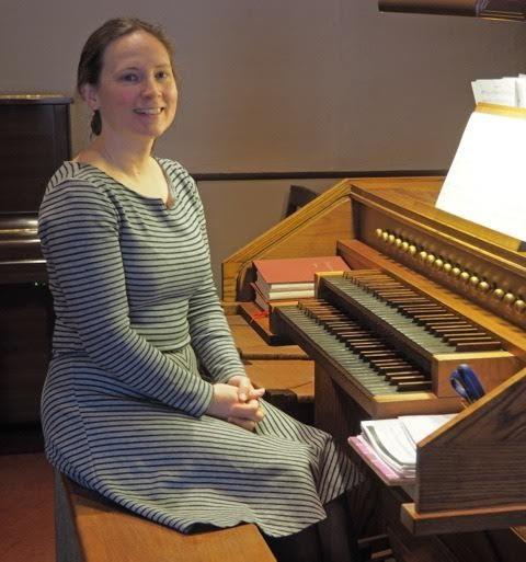 Carla at the organ