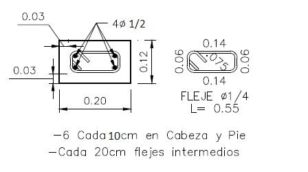 01 Columneta De 0 2 M X 0 12 M O 0 25 M X 0 125m