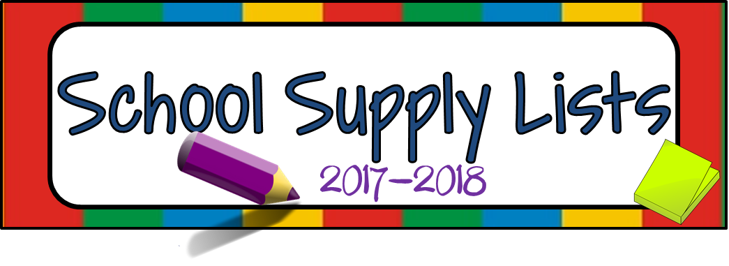 Cross Plains Elementary School Supplies Lists (Gr. PK-6)