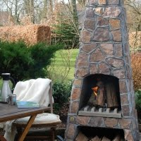 Outdoor Fireplaces - Cracker Mill Products