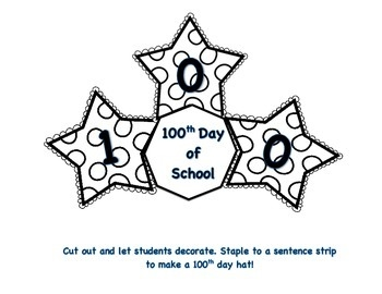 100th day hat template - technology rocks seriously celebrating the 100th day of