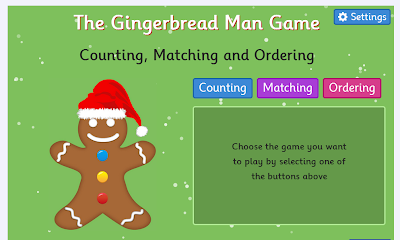 http://www.topmarks.co.uk/learning-to-count/gingerbread-man-game/xmas