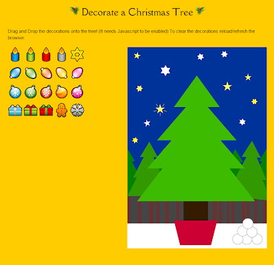 http://www.whychristmas.com/fun/decorateatree.shtml