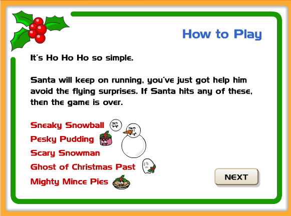 http://learnenglishkids.britishcouncil.org/en/fun-games/run-santa-run