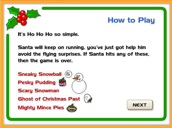 http://learnenglishkids.britishcouncil.org/en/fun-games/run-santa-run