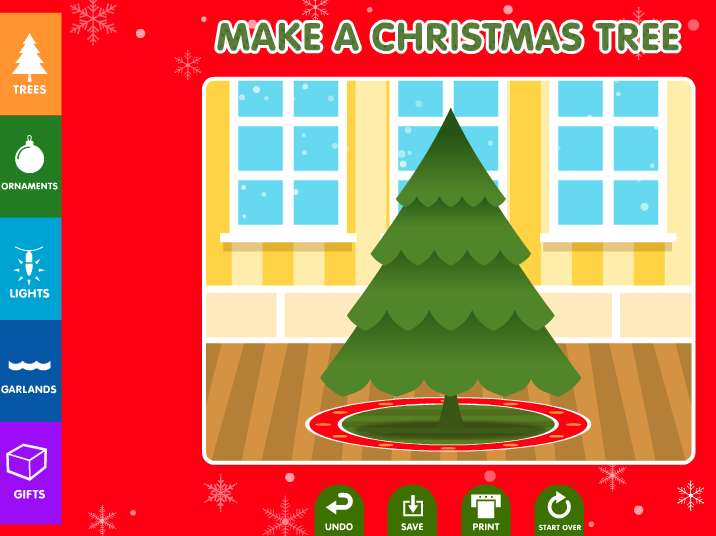 Technology Rocks. Seriously.: Tree Decorating Online 2015