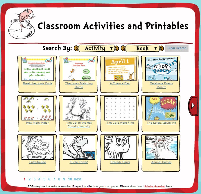 photo about Printable Dr Seuss Books called Dr. Seuss Printables - Dr. Seuss Exciting