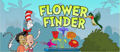 http://pbskids.org/catinthehat/games/flower-finder.html
