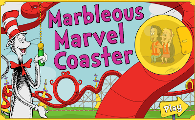 http://pbskids.org/catinthehat/games/marblecoaster/index.html