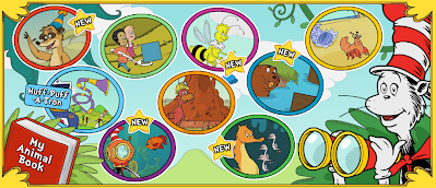 http://pbskids.org/catinthehat/games/math-safari.html
