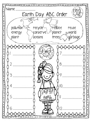 Earth Day Printables - Earth Day Fun